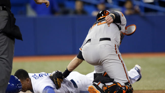 MLB: Baltimore Orioles at Toronto Blue Jays