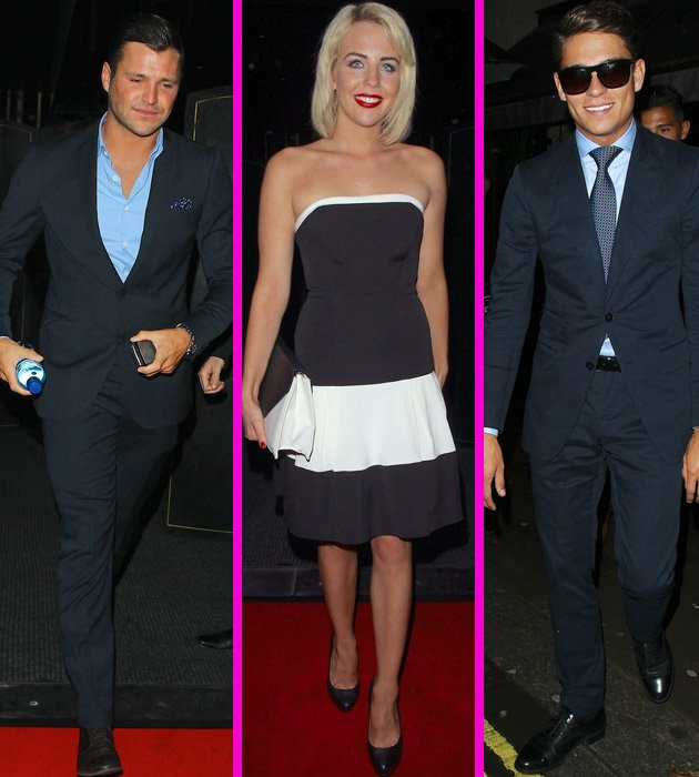 TOWIE, Mark Wright, Lydia Bright and Joey Essex