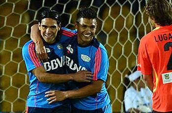 Falcao is blessed, says Teo Gutierrez