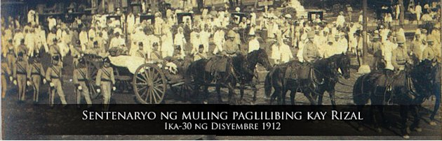 Rizal funeral restaged for 116th death anniv