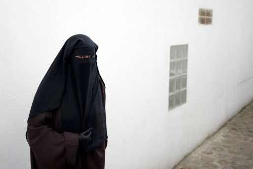 &lt;p&gt;A Muslim woman wearing the niqab on May 18, 2010 in Montreuil, outside Paris. A Frenchman who ripped a Muslim woman&#39;s veil off her face as she strolled in a fairground was Wednesday given a five-month suspended prison sentence and ordered to compensate his victim.&lt;/p&gt;