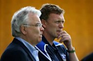 We will take our time finding Moyes' replacement, says Everton chairman Kenwright