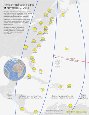 Rare Hybrid Solar Eclipse Occurs Today: Watch It Live…