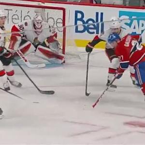 Galchenyuk spins around to bury OT winner past Hammond