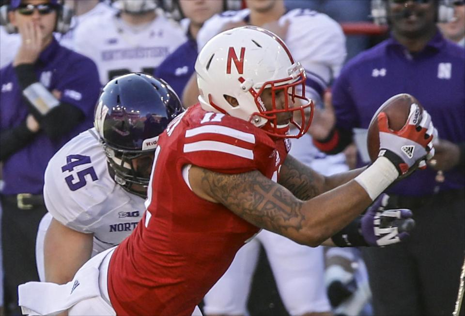 Westerkamp snags Hail Mary, Nebraska wins 27-24
