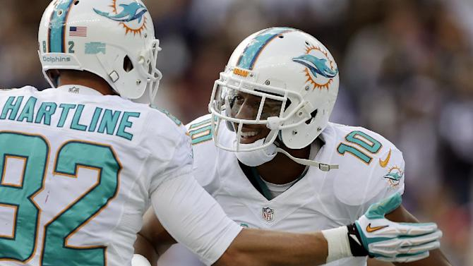 Dolphins WR Gibson goes on IR with knee injury