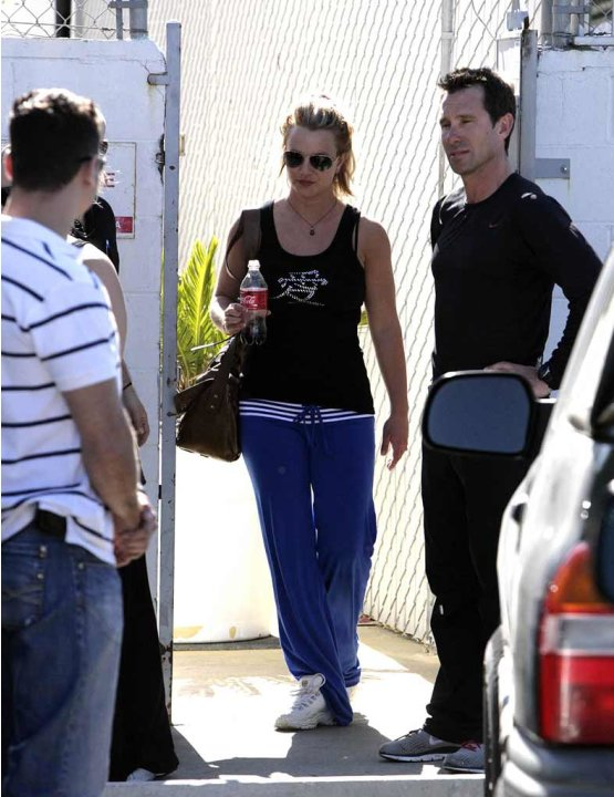 Britney Spears Gym