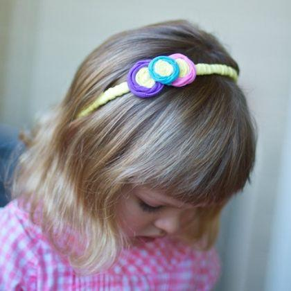 Turn an Old T-Shirt Into Hair Accessories
