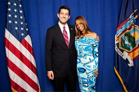 Stacey Dash Tweets Photo With Paul Ryan, Blogs About Mitt Romney
