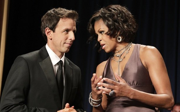 Seth Myers Isn't Doing the Paul Ryan Impersonation
