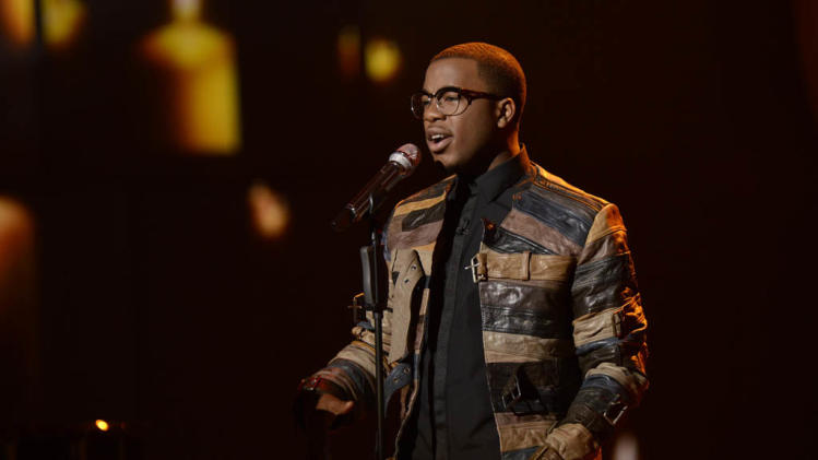 """American Idol"" Top 9 - Burnell Taylor"