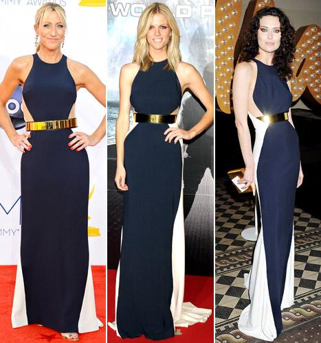 Who Wore It Best: Edie Falco, Brooklyn Decker or Shalom Harlow?