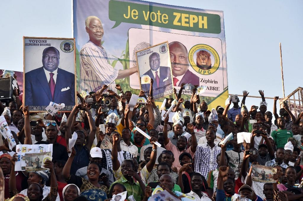 After roller-coaster year, Burkina votes for new president