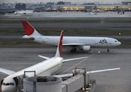 File photo shows a Japan Airlines passenger plane passing another on the tarmac at Tokyo International Airport in Haneda. A New Zealand court on Friday fined Japan Airlines NZ$2.28 million ($1.8 million) after it admitted price fixing on cargo shipments in and out of the country