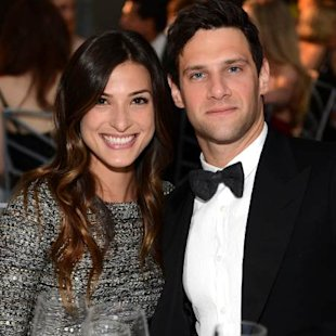Lia Smith and Justin Bartha at The Art of Elysium&#39;s 6th Annual HEAVEN Gala on January 12, 2013  -- Getty Images