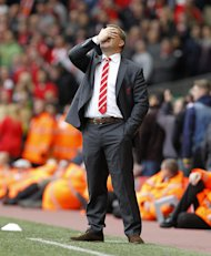 Brendan Rodgers was not impressed by the performance of Mark Halsey