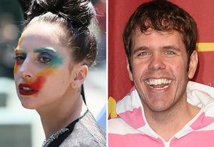 Lady Gaga, Perez Hilton | Photo Credits: JB Lacroix/Getty Images; Jason LaVeris/FilmMagic