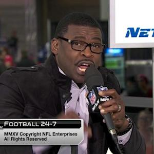 """Michael Irvin gives amazing """"would-be"""" halftime speech"""