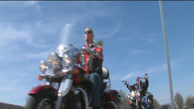 Bikers help victims of child abuse