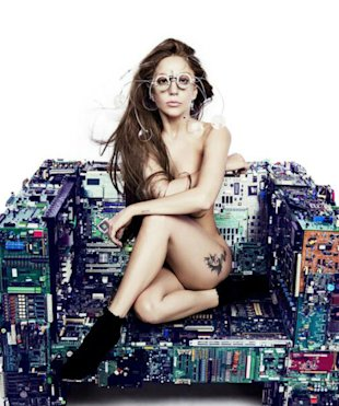 Lady Gaga Bares All As She Shares Naked ARTPOP Promo (PHOTO)