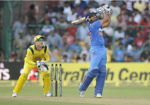 India v Australia 7th ODI Bangalore