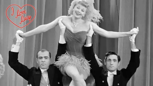 I Love Lucy - Charley Horse Or Not, Lucy Meets the Queen