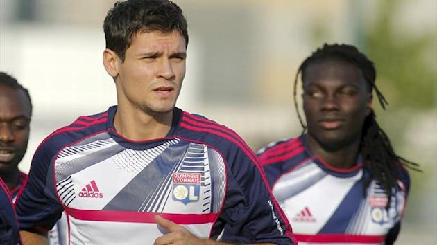 Dejan Lovren of Lyon in training (Reuters)