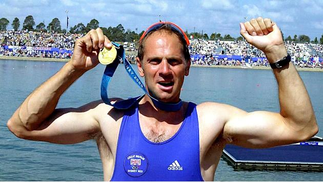 Sir Steve Redgrave won an Olympic gold medal for rowing in 2000, but is now taking on a ski jumping challenge