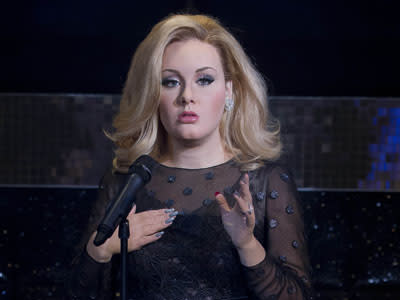 Adele Is Immortalized in Wax