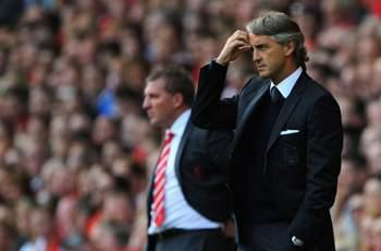 Mancini laments lack of concentration after 1-1 draw with Arsenal