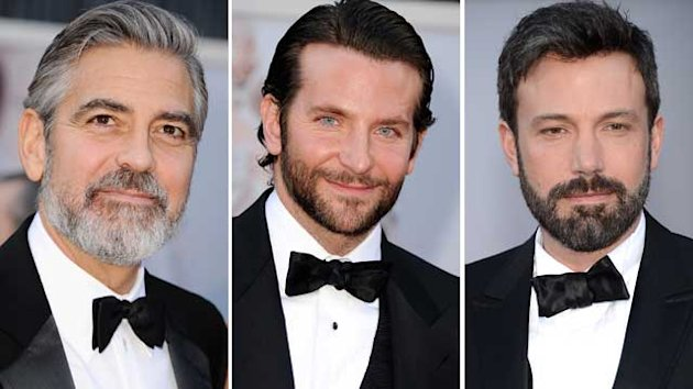 Stars Sporting Stubble on the Red Carpet (ABC News)