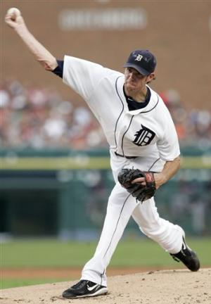 Fister pitches Tigers past fading Indians 6-1