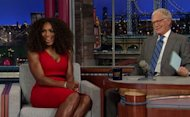 Serena Williams ideal en el programa de Letterman