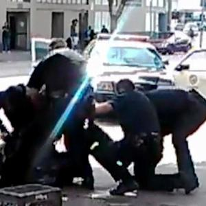 Video captures dramatic confrontation and gunfire in deadly LAPD shooting