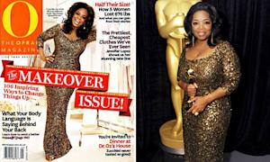 Oprah Winfrey Recycles Theia Gown for 2012 Oscars