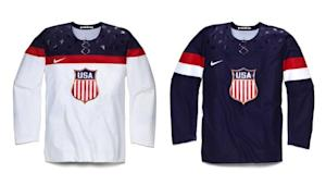 PHOTO: USMNT Centennial crest and jersey or USA Hockey 2014 Olympics jersey? You tell us | SIDELINE