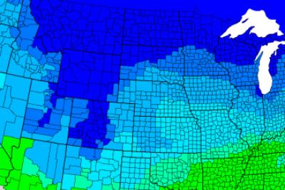 Map: How much snow it takes to cancel school in each state