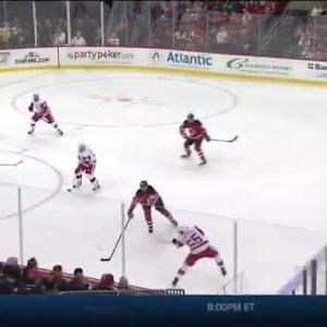 Cory Schneider Save on Danny DeKeyser (11:19/1st)