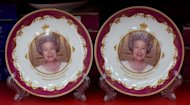 Souvenir plates commemorating Queen Elizabeth II's diamond jubilee are on sale in a London shop. The Centre for Retail Research predicts that consumers will spend £307 million this summer on jubilee and Olympic souvenirs