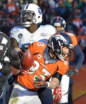 Welker, Bailey out for Broncos vs. Chargers
