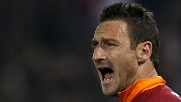 Roma's Francesco Totti (Reuters)