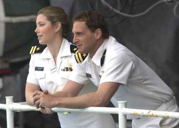 Jessica Biel and Josh Lucas in Columbia Pictures' Stealth