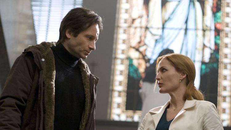 David Duchovny Gillian Anderson The X-Files: I Want to Believe Production 20th Century Fox 2008