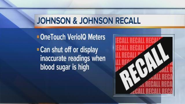 Company recalls blood sugar meters