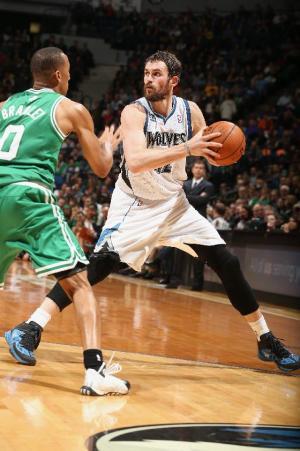 Love, Pekovic power Wolves over Celtics
