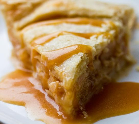 Carmel Apple Pie