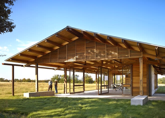 Eco Design: This Gorgeous Pavilion Could Be Texas's First Living Building