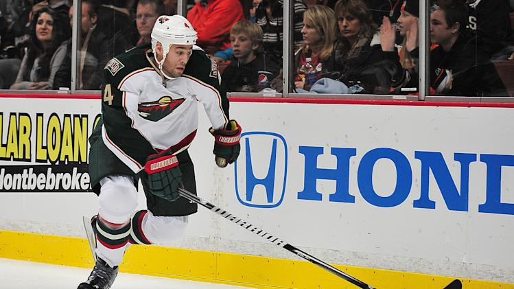 NHL: Minnesota Wild at Anaheim Ducks