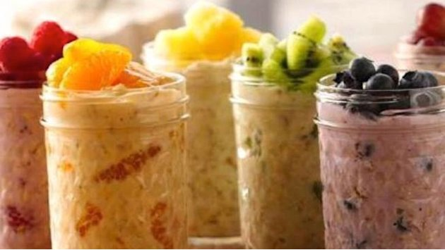 Delicious and Healthy Overnight Oatmeal Recipes - Yahoo Sports