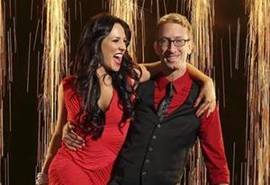 Andy Dick and Sharna Burgess | Photo Credits: Craig Sjodin/ABC